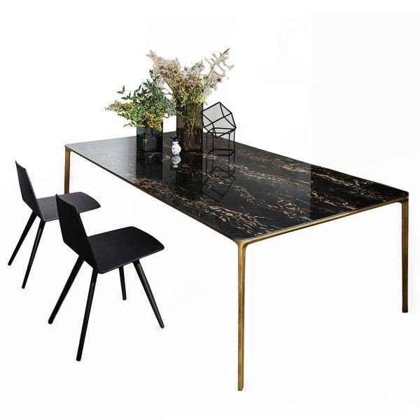 Table Extensible Light Marbre Meubles Et Atmosphere Table Extensible Grande Table De Salle A Manger Table A Manger Design
