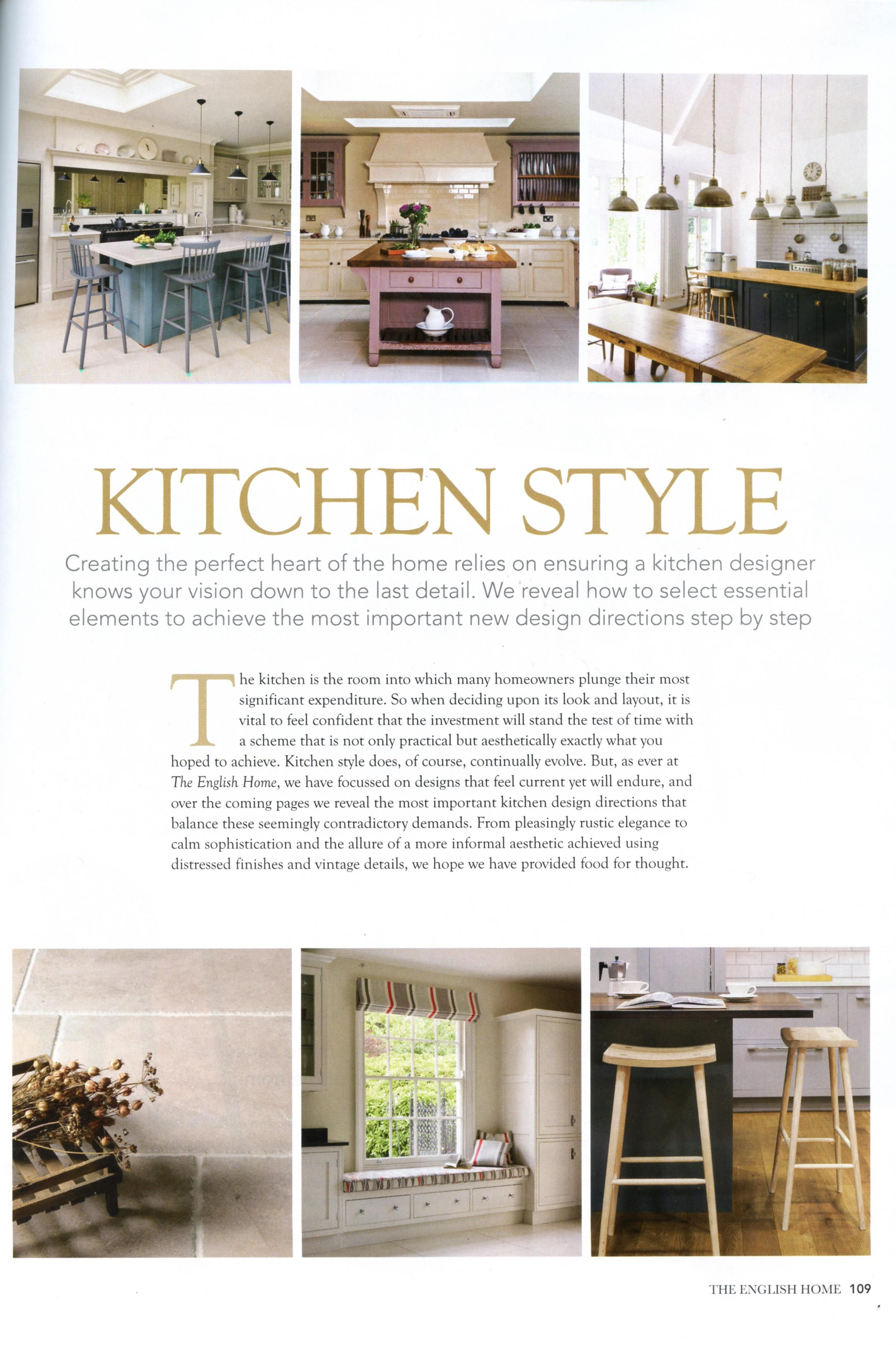 Have a look at this beautiful bespoke kitchen from Martin Moore ...