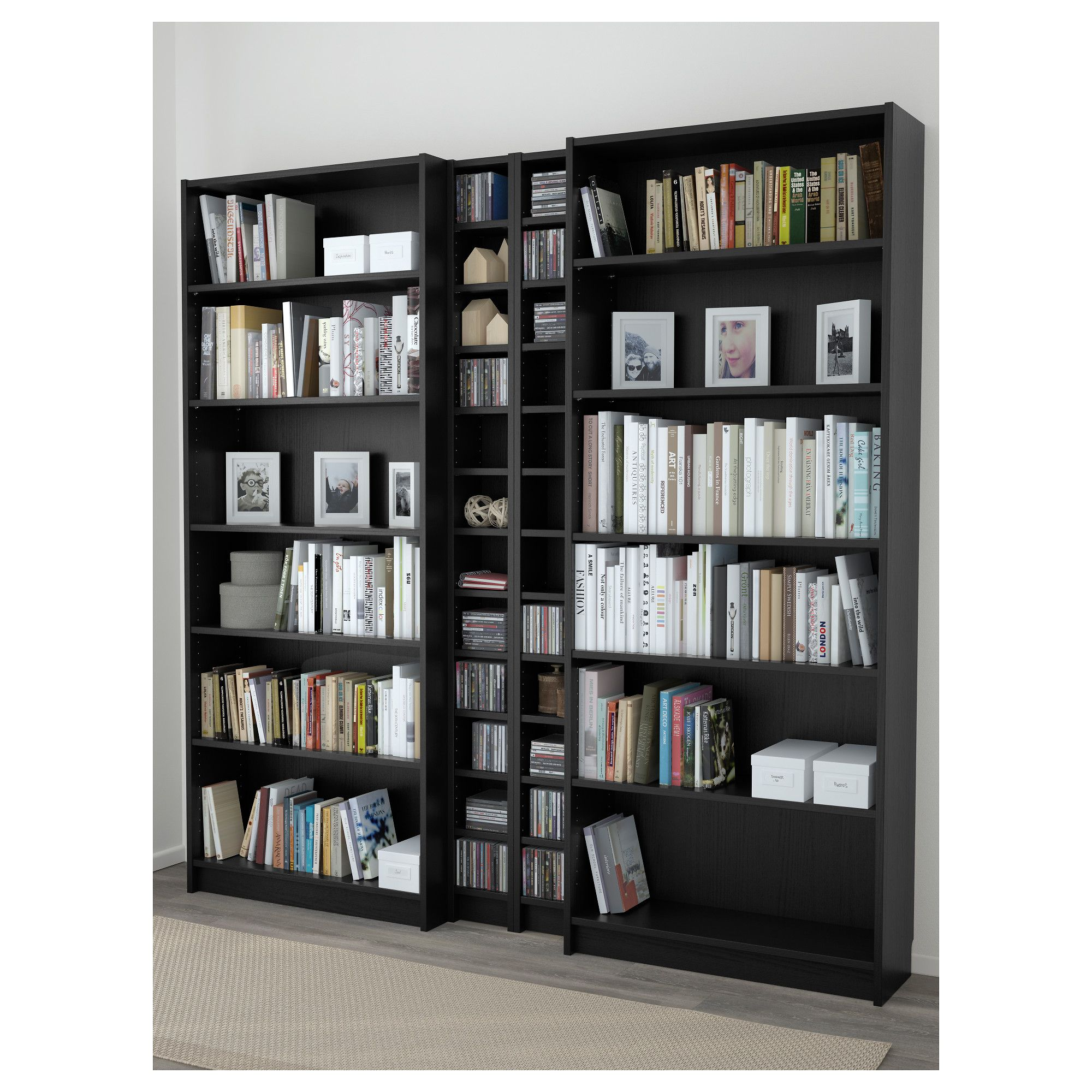 Gnedby Regal Ikea Billy Gnedby Bookcase Black Brown Cairo Bookcase