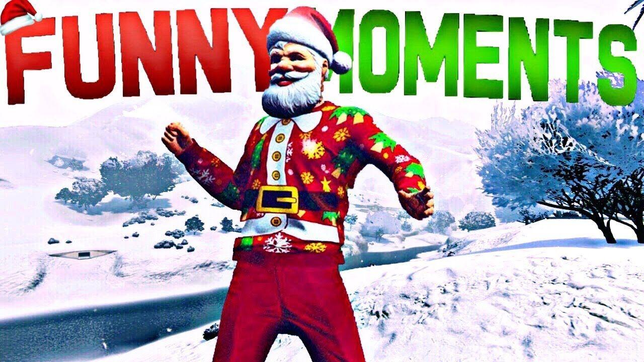 gta 5 funny moments snowball fights christmas update bad santa christmas special grandtheftautov gtav gta5 grandtheftauto gta gtaonline - Gta V Christmas