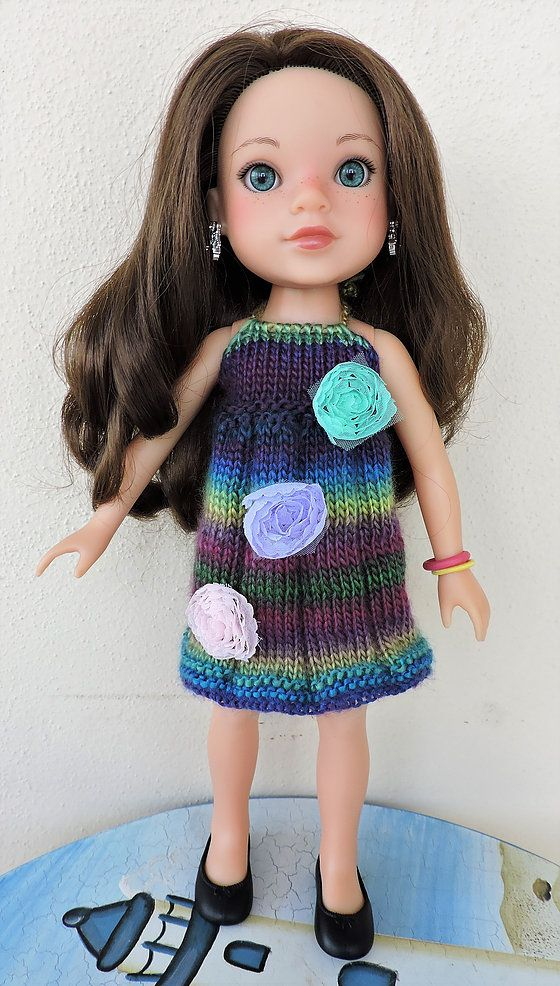 dollie-clothes | WW & H4H 3 Flower Dress | Pletení na panenky ...