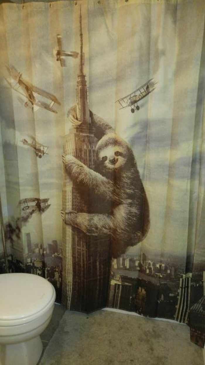31 Funny Creative Shower Curtains That Will Make Your Day Cool