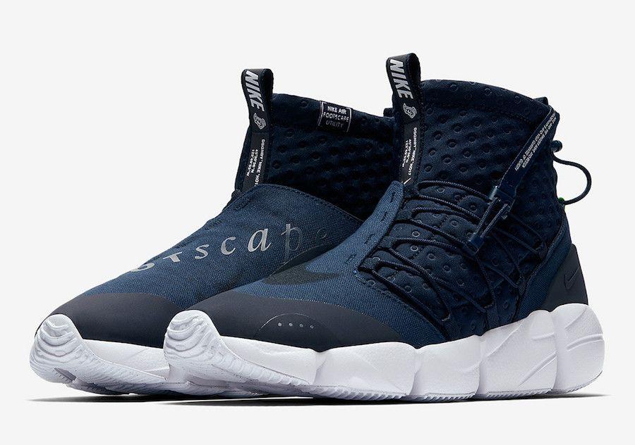 Nike Air Footscape Mid Utility Obsiidan 924455 400 Happy Feet