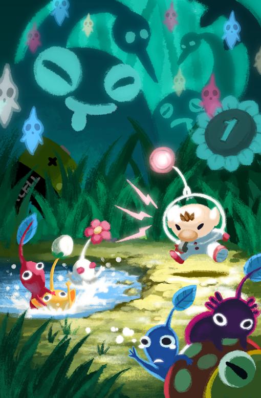 Pikmin 2 Video Game Fan Art Nintendo Art Game Art
