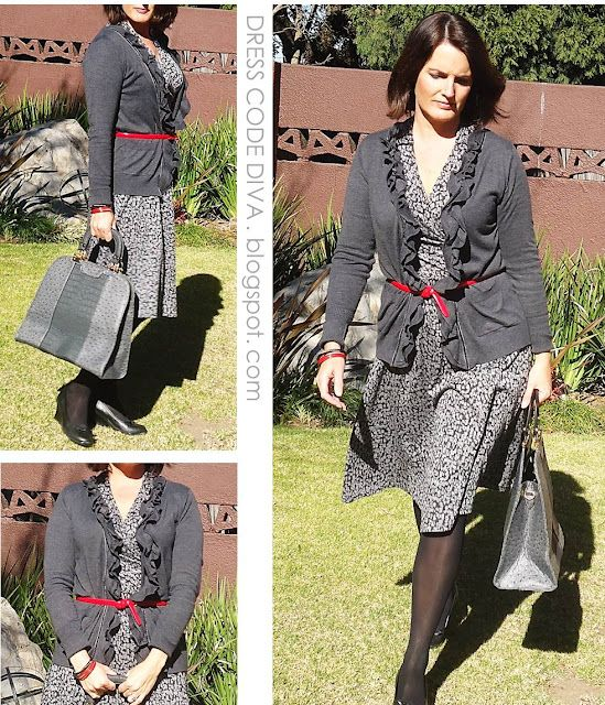 Shades of Grey  frpm www.DressCodeDiva.blogspot.com