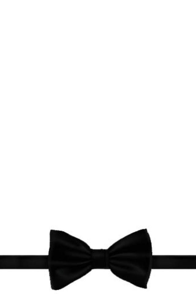 Black White Bow Tie Phone Background Wallpaper