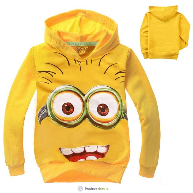 Baby Boys & Baby Girls Cartoon Anime Figur Hoodies – Billy Silly Online-Shop