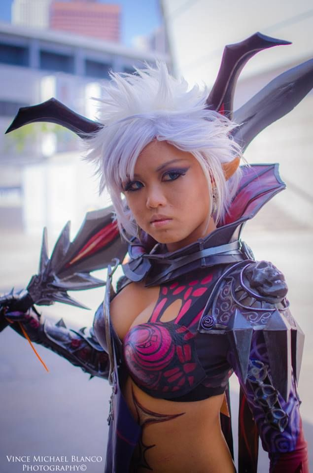 Beauty TERA cosplay (castanic race?) (source) Photo by Vince