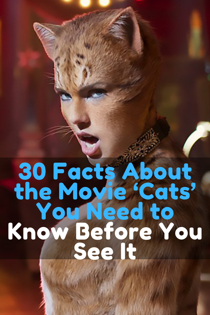 30 Facts About the Movie 'Cats' You Need to Know Before