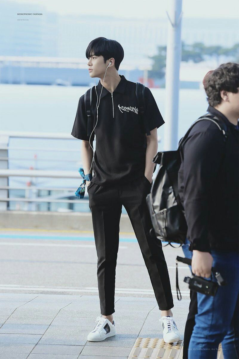 Image result for sf9 rowoon airport