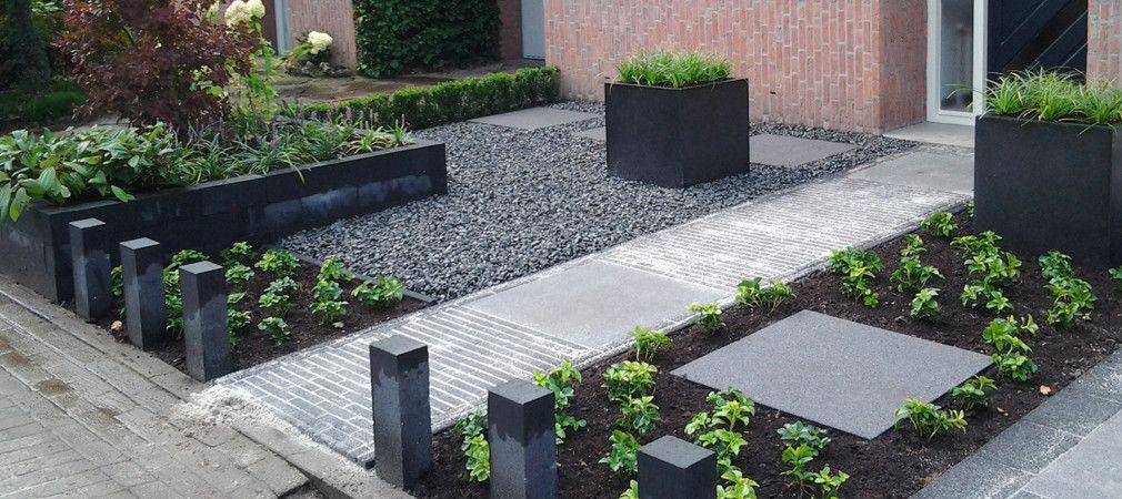Projecten vgl groen voortuin pinterest gardens for Foto s voortuinen