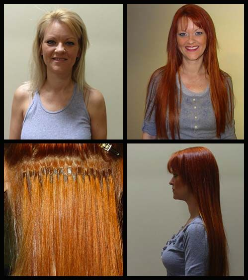 Before and after hair di biase hair extensions blonde to red hair before and after hair di biase hair extensions blonde to red hair thicker longer pmusecretfo Choice Image