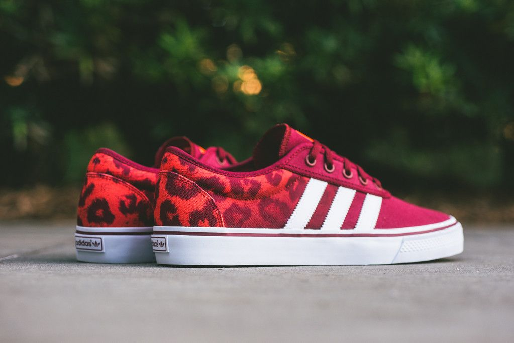 Adidas Skateboarding Adi Ease Quot Red Leopard Quot Leopard