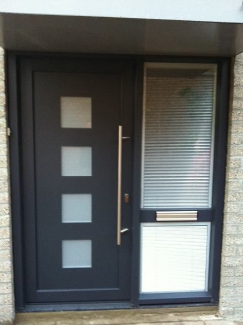 Plastic front door