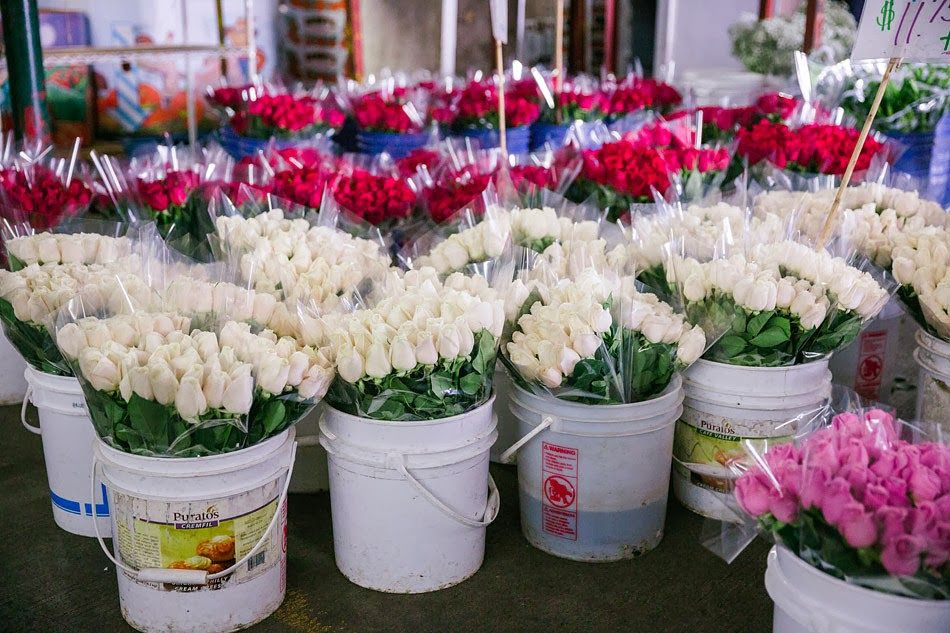 la flower district vendors will be open 24 hours for valentines day and offering discounted - Valentines Day Los Angeles