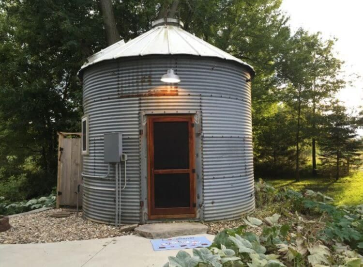 15 Anti-Mainstream Living Space Design From Grain Bin ...