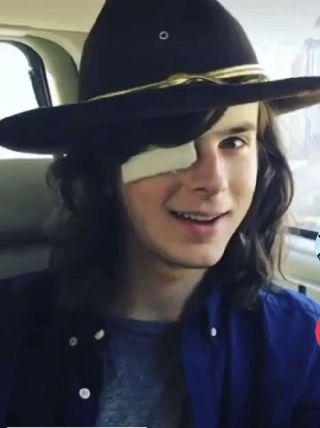 His cute little smirk