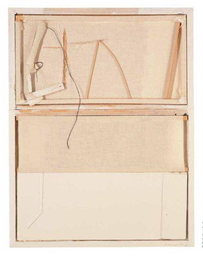 Sin título c. 1977-78 T.mixta/madera 56,4 x 44