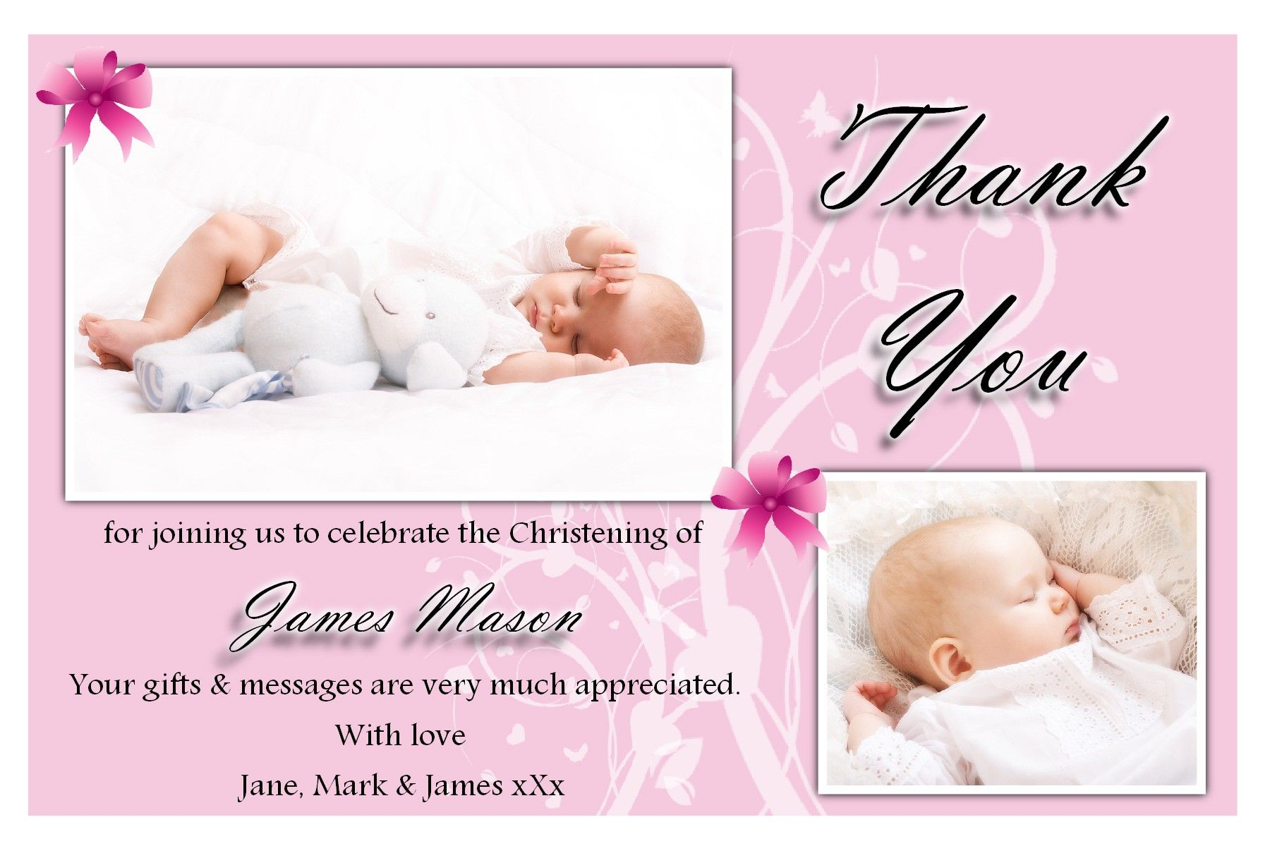 Free christening invitation templates software baptism free christening invitation templates software pronofoot35fo Gallery