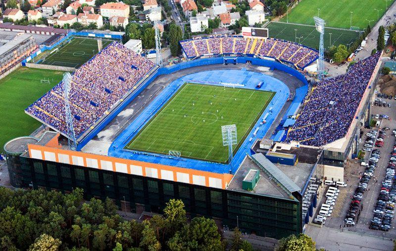 Stadion Maksimir Stadium Gnk Dinamo Zagreb Zagreb