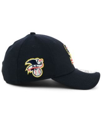 huge discount 6c59a 40952 New Era Seattle Mariners Stars and Stripes 39THIRTY Cap - Blue M L