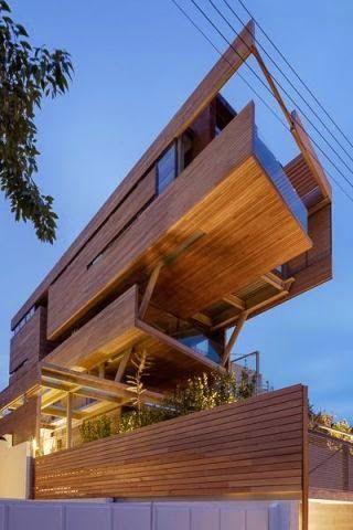 Arquitectura de diseño a base de madera
