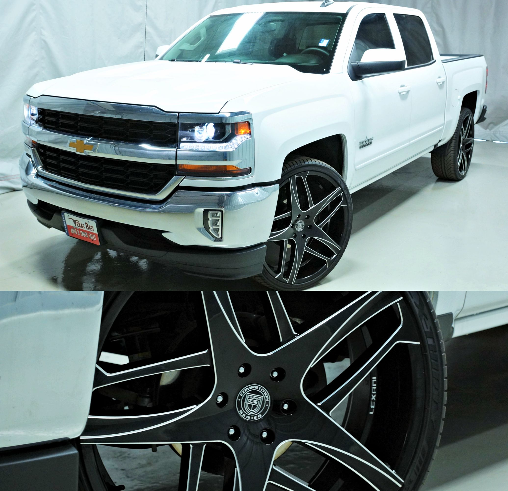 2016 Chevrolet Silverado 1500 On Custom 26 Lexani Wheels