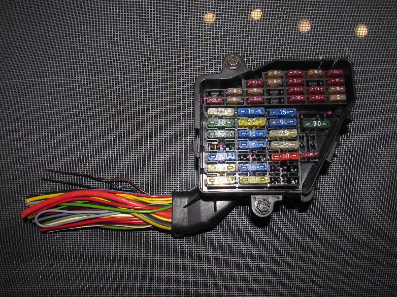 medium resolution of 96 01 audi a4 2 8l v6 oem fuse box