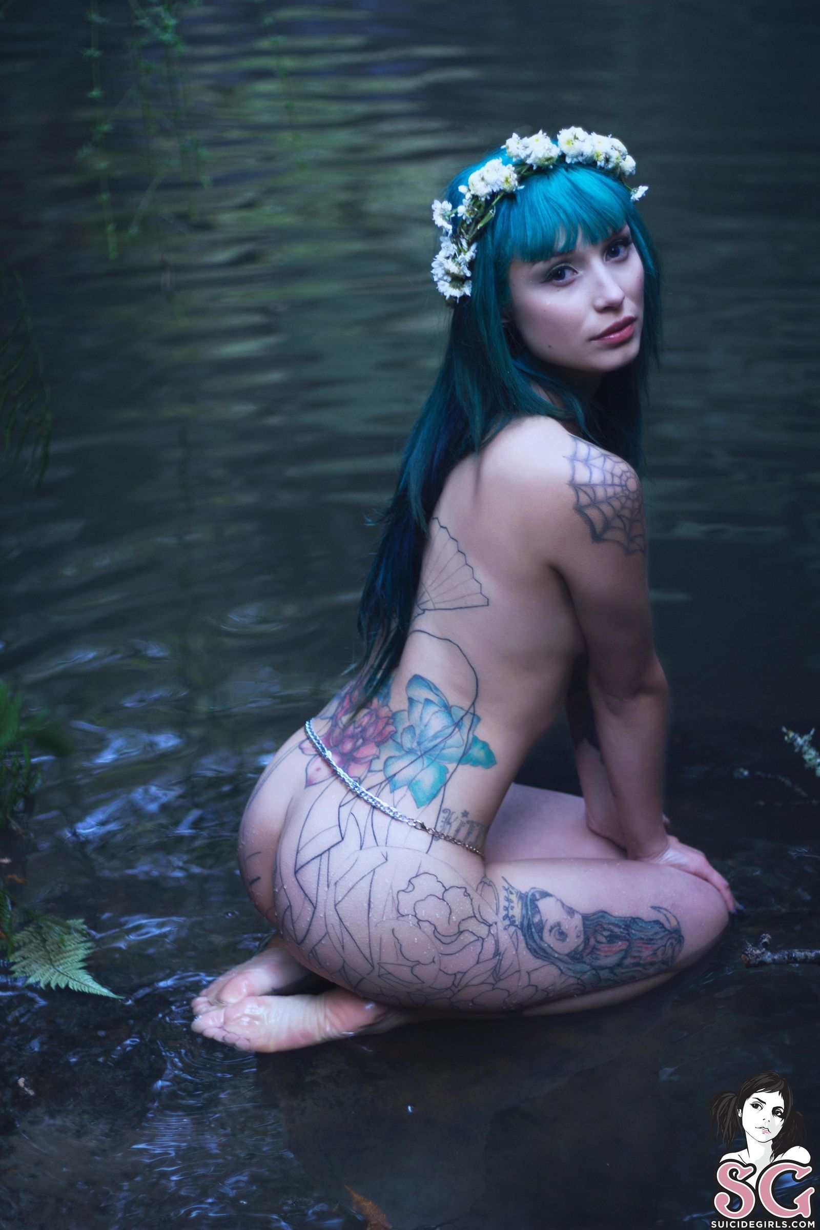 Les Suicide Girl terrorlydia - les nymphes des forêts #inked #sg #tattoo