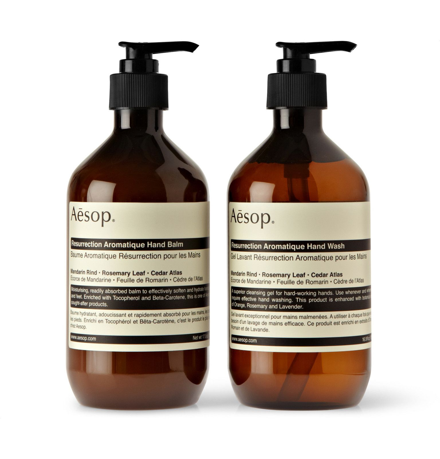 Colorless Resurrection Duet Hand Wash And Balm 2 X 500ml Aesop In 2020 Aesop Hand Wash The Balm Aesop Soap