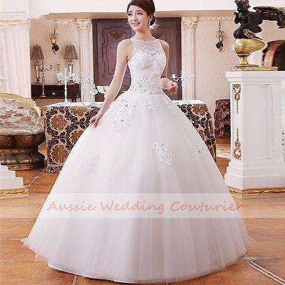 Custom Made Debutante Dress Formal Gown Bridal Wedding Deb Avail In