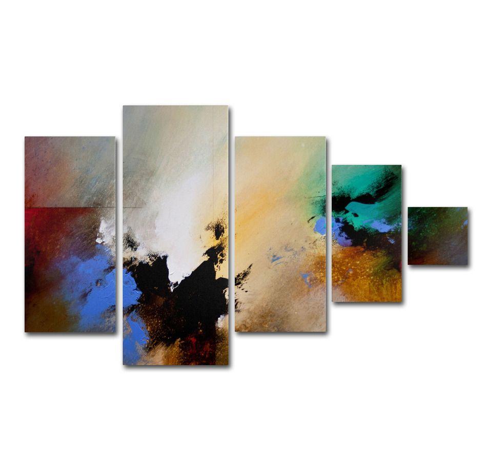 Trademark Fine Art -CH Studios 'Clouds Connected II' Multi Panel Art Set