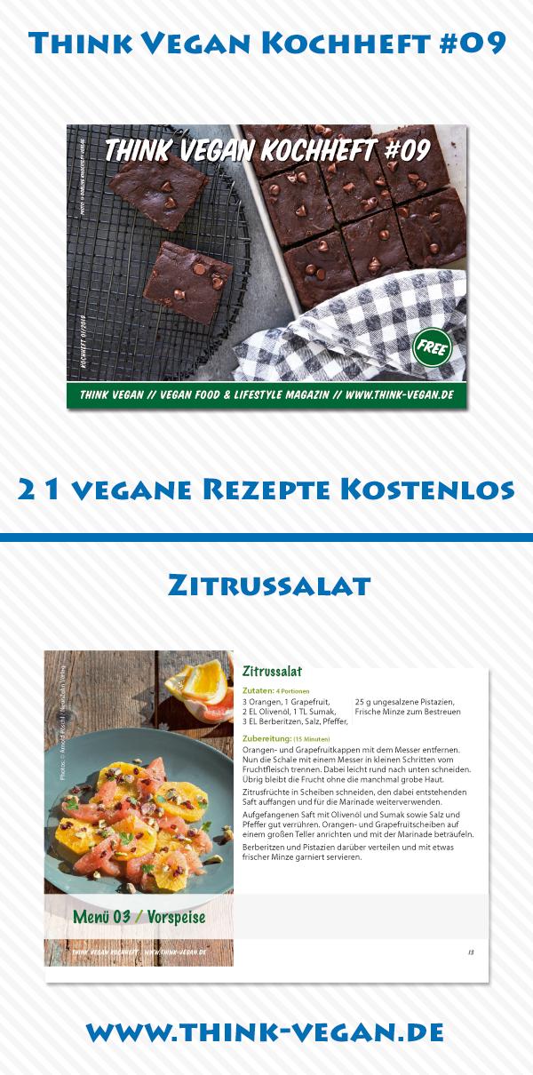 Zitrussalat Vegan Vegane Salate Vegane Vorspeisen Vegane Rezepte