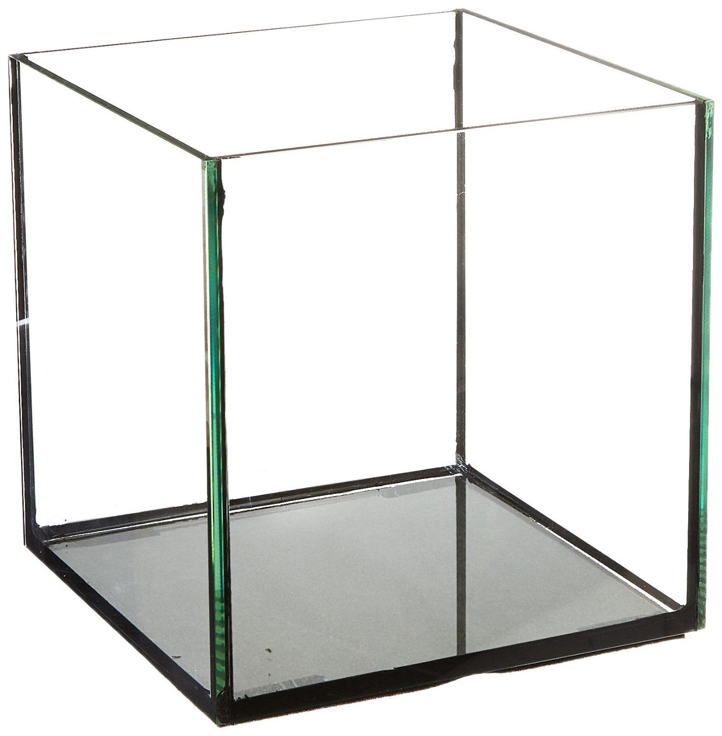 Amazoncom Deep Blue Professional Adb11441 Rimless Cube Aquarium Glass Tank,