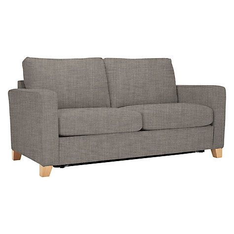 Buy John Lewis The Basics Jackson Sofa Bed Light Legs Online at