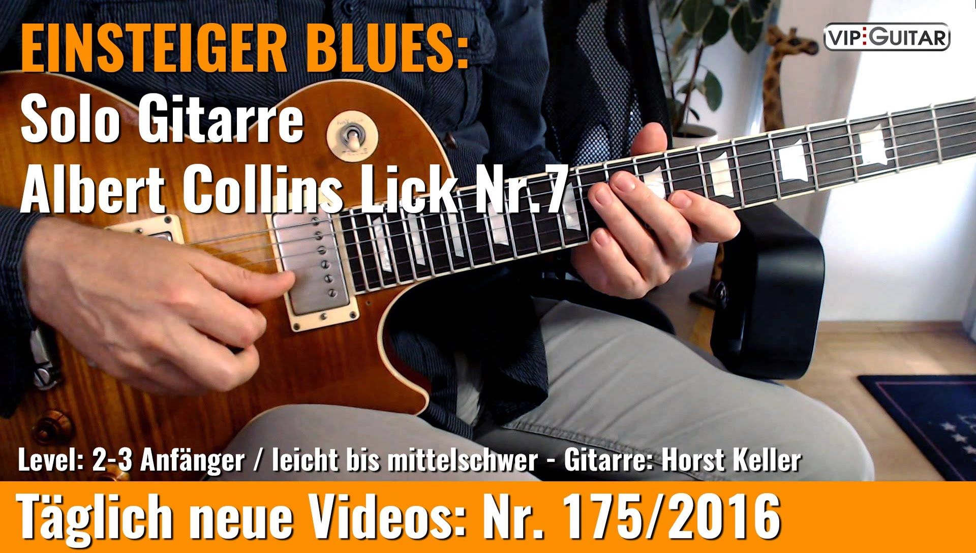 ✪ GITARRE LERNEN Anfänger Blues ■Basis Lick Nr 6 Gitarre lernen Pinterest