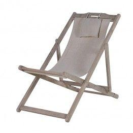 new limewashed deck chair outdoor furniture - Garden Furniture Shabby Chic