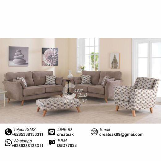 Sofa Vintage Furniture Bed Single Modern Set