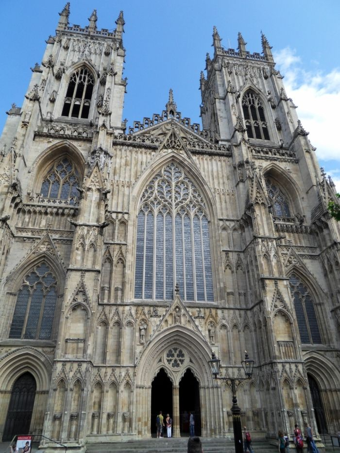 Yorkminster Cathedral, so beautiful and huge!