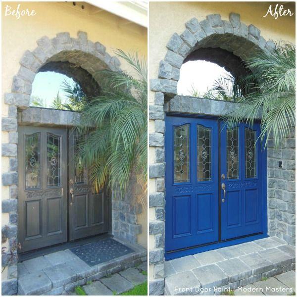 painted double front door. Double Front Doors Painted In The Color \ Door Pinterest