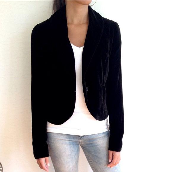 Black velvet blazer price