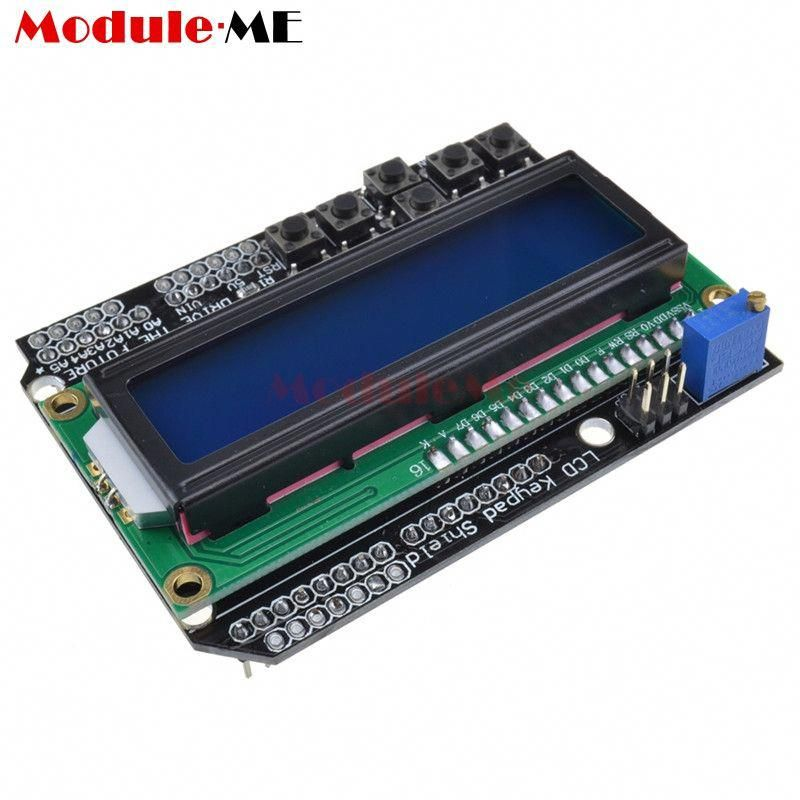 Arduino Lcd Keypad Shield Sku Dfr0009 Dfrobot: Lcd Keypad Shield Arduino Mega 2560