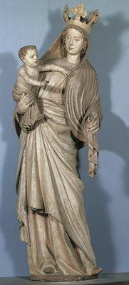 Michaelermeister, Madonna vom Sonntagberg, Wien, um 1360 | © © Belvedere, Wien