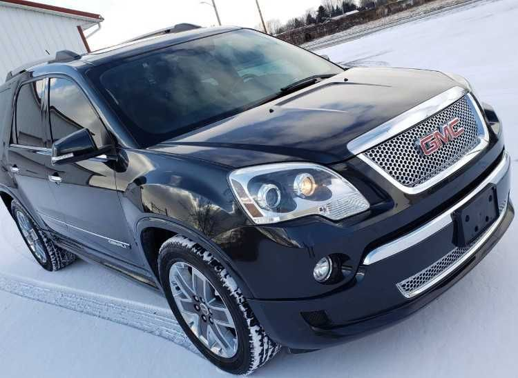 Selling A 2012 Gmc Acadia Denali Awd With 3rd Row All The Bells