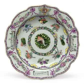 Enameled Portuguese Soup Plate circa 1765  sc 1 st  Pinterest & Enameled Portuguese Soup Plate circa 1765 | 18th Century Culinary ...