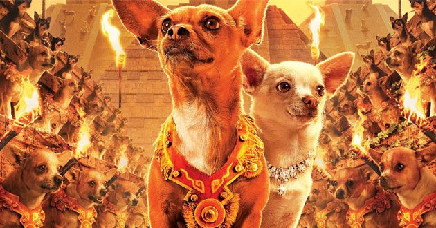 Papi And Chloe In Beverly Hills Chihuahua Movie Beverly Hills
