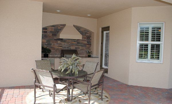 Great Outdoor Kitchen From Lennar Southwest Florida Outdoor Spaces New Homes Home