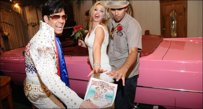 Make Your Las Vegas Wedding Memorable By Having The King Preside Our Elvis Themed Packages Are Perfect For A And