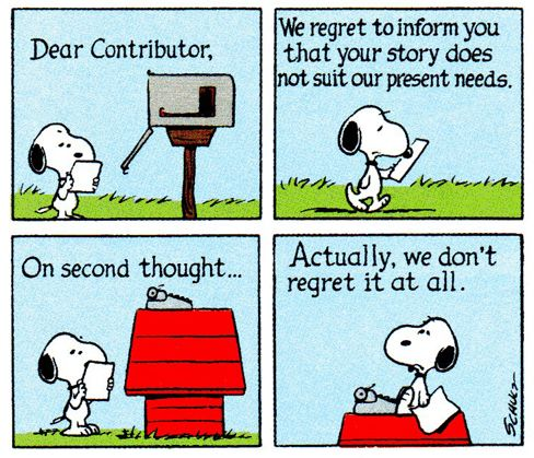 No sale for Snoopy.
