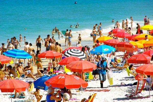 Copacabana Colorful Umbrellas
